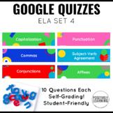 Google Form Assessments for ELA