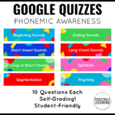Google Form Quizzes for K-1
