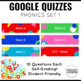 Google Form Quizzes for Phonics