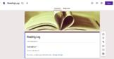 Google Form Reading Log _Simple