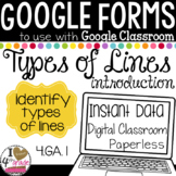 Google Form Types of Lines Test