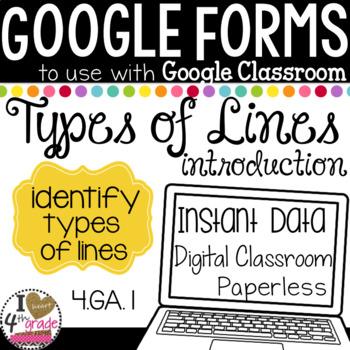 Google Form Types of Lines Test
