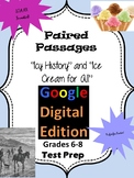 "Google Form for Paired Passages ""Icy History"" and ""Ice Cream for All"""