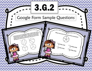Google Form to Assess Common Core Math Standard:  3.G.2