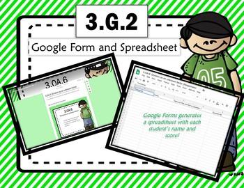 Google Form to Assess Common Core Math Standard:  3.OA.6