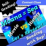 Google Forms Reading Context Clues Fiction Passage with Qu