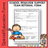 Google Forms Behavior Support Referral Form