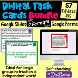 Google Forms Bundle of Digital ELA Task Cards