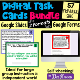 Bundle of Digital Task Cards Using Google Forms and Slides