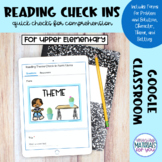 Google Forms Check Ins | Reading