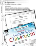 Google Forms--Create a Review Game Buzzer