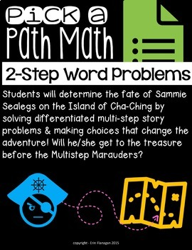 Distance Learning for Google Forms Digital Interactive Math Story