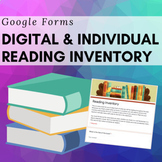 Google Forms Digital Reading Log   Distance Learning
