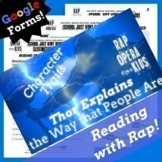 Google Forms Reading Character Traits Passage Questions Us