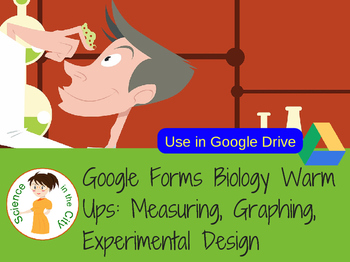 Introduction to Science Google Forms Warm Up or Exit Ticket Assessment Set