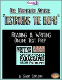 """SBAC Test Prep ~1 ONLINE Text, """"DESTROYING THE ENEMY"""" ~ About Vaccines"""