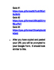 Google Forms Online Quizzes for Global Studies Test Prep
