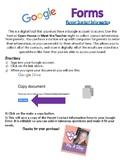 Google Forms- Parent Contact Information