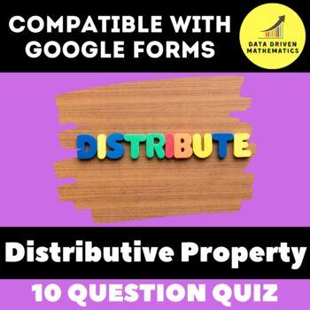 Distributive Property Quiz Teaching Resources Teachers Pay Teachers