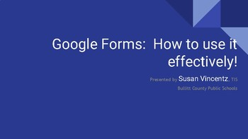 Google Forms Quiz Feature Tutorial Presentation
