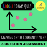 Google Forms™ Quiz - Graphing on the Coordinate Plane - 5.