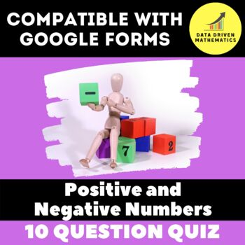 Google Forms Quiz - Positive and Negative Numbers - 6.NS.5