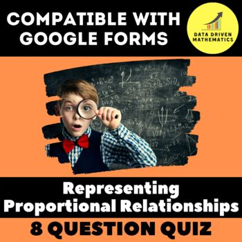 Google Forms Quiz - Representing Proportional Relationships - 7.RP.2c