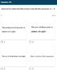 Google Forms Quiz - Writing Expressions with Variables - 6.EE.2a