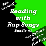 Google Forms Reading Comprehension Activities Using Rap Songs