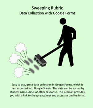 Google Forms Rubric for Data Collection: Sweeping