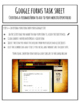 Google Forms Task Sheet BELL RINGER - Creating Feedback Fo