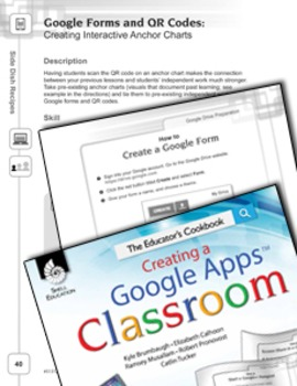 Google Forms and QR Codes--Creating Interactive Anchor Charts