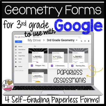 Google Forms for Geometry (3.GA.1)