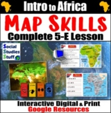 Google   Geography of Africa Digital Lesson   Political &