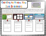Google- Getting to Know You Ice Breakers with Exit Slips