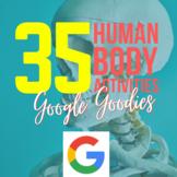 Google Goodies: Human Body Interactives, CLOZEs & Quizzes