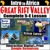 Google   Great Rift Valley Digital Lesson & Activities   A