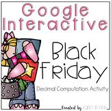 Google Interactive: Black Friday Decimal Operations
