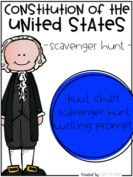 Google Interactive: Constitution of the United States Scavenger Hunt