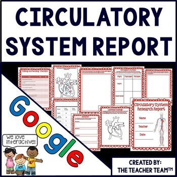 Google Drive Human Body Circulatory System Report for Goog