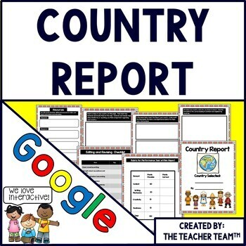 Country Report Google Drive Activities