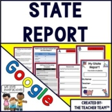 State Research Project | State Report |Google Classroom Activities