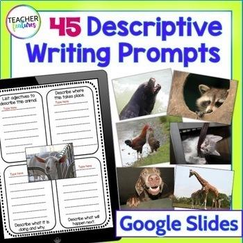 Google Drive Descriptive Writing for Google Classroom