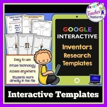 Google Classroom Science Famous Inventors Research