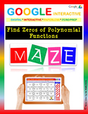 Find Zeros of Polynomial Functions - Google Interactive: Maze