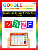 Graph the points & Find the Slope - Google Interactive: Maze