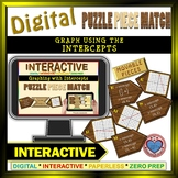 Graph with Intercepts - Google Interactive: Puzzle Match