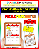 Transformation of Functions (2 Levels) - Google: Puzzle Match Distance Learning