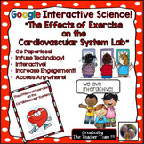 Google Drive Biology-  Cardiovascular System Exercise Lab for Google Classroom