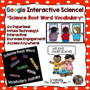 Google Drive Biology- Science Root Word Vocabulary for Goo